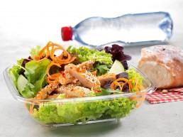 Asia-Poulet-Salat