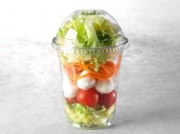 Caprese-Salatbecher