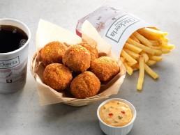Poulet-Curry-Balls