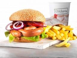 Chäswurst-Burger