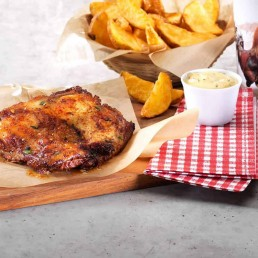Country-Poulet-Steak
