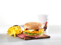 Chickeria Chnusper Burger
